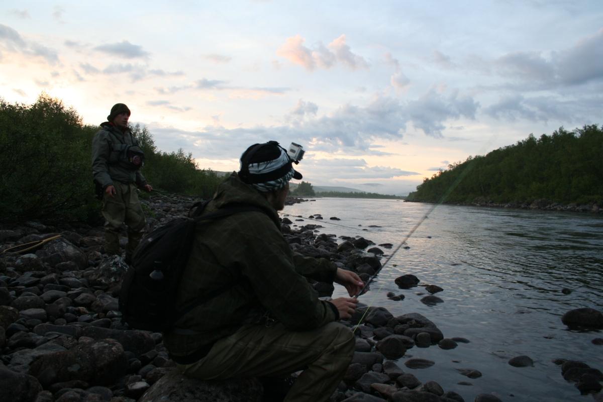 Ensimmäinen reissu Finnmarkkiin, 17.-24.07