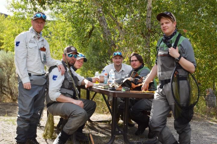 Team Finland evästauolla